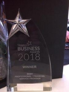 best financial service provider award 2018
