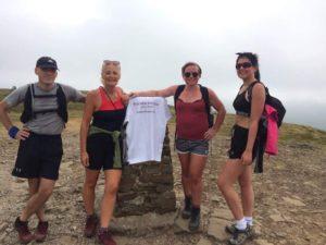 Walker Foster Team doing 3 peaks